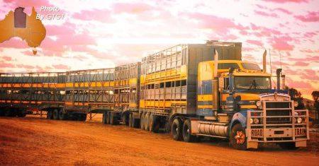澳洲内陆的卡车运输巨无霸-公路列车 Road Trains