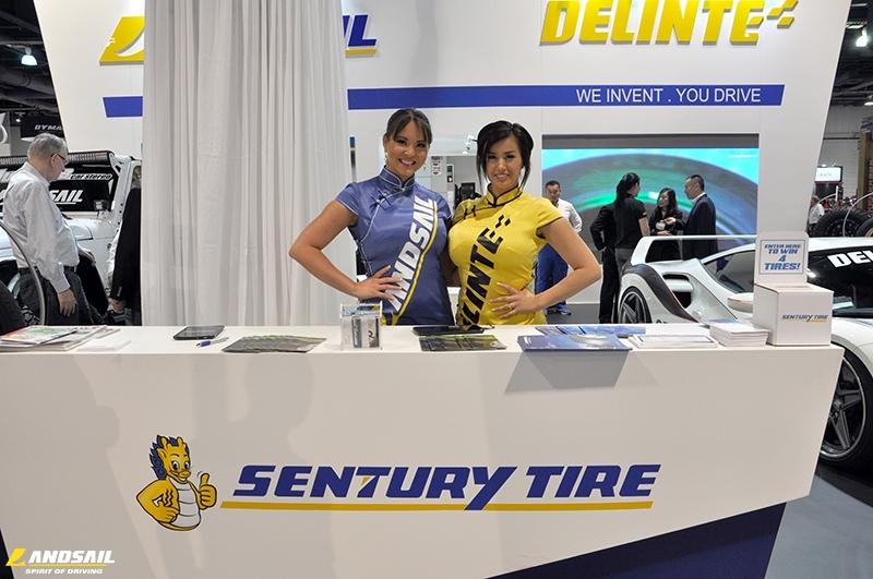 Sentury tire brands Landsail tyre and Delinte tire