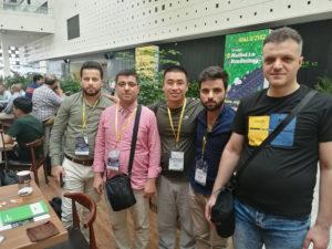 Syrian Tyre Customer Mr. Moustafa team visiting Shanghai Tyre Expo Show on Sep. 2018
