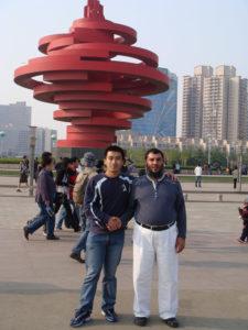 UAE Tyre client visit Qingdao on April 26th 2008
