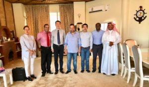 Visiting Saudi Arabia Tyre Customer KCT on May 2018