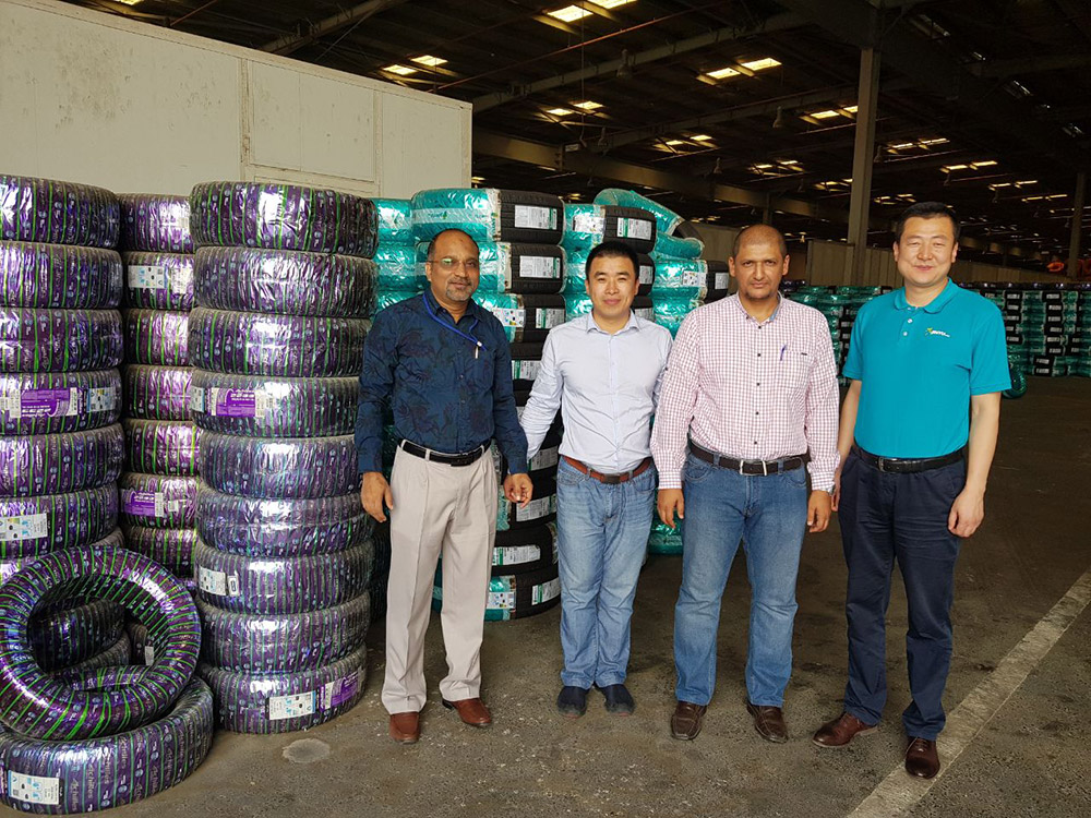 Visiting Saudi Arabia BinShihon Tyre Warehouse in Jeddah 201805