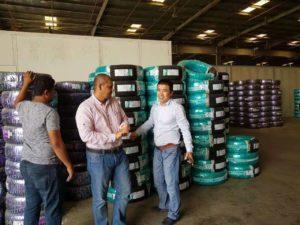 Mike visit Saudi Arabia PCR tyre client
