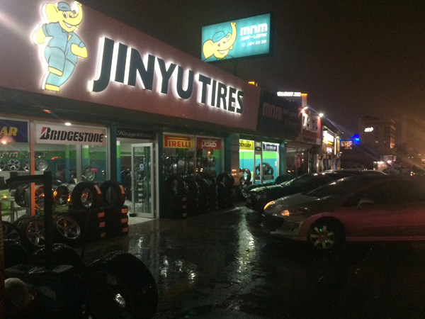 Jinyu Tires Turkey Customer Retail Shop