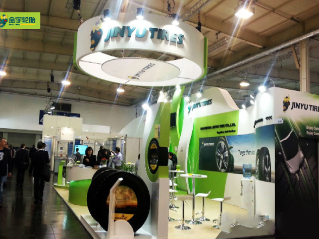 Jinyu Tires in American Tire Exhibition
