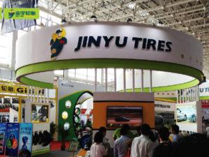 Jinyu Tyres in African Tyre Exhibision