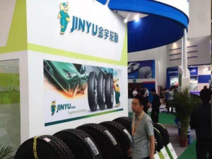 Jinyu Tyres in Europe Tyre Exhibition
