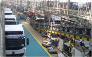 Sinotruk Trucks Manufacturing Workshop