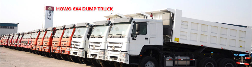 Howo 6X4 Dump Trucks produced by Sinotruk