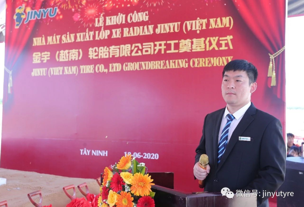 Mr. Li Hongyun, Representative of Jinyu Vietnam Project