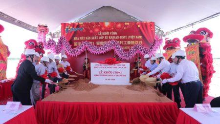 Jinyu Tire Group Vietnam Factory Two Million TBR Tyre Project Starts