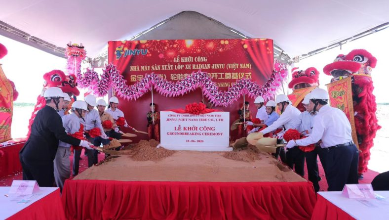 Jinyu Tire Group Vietnam Factory Two Million TBR Tyre Project Starts