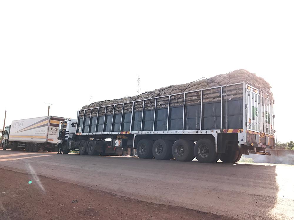 Dakar port Senegal to Bamako Mali long haul heavy truck transportation with 100tons pay loading.