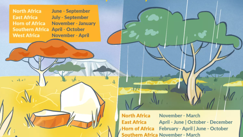 African Dry and Rainy Seasons