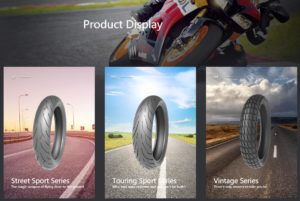 Timsun motorcycle tyre and electormobile tires product series