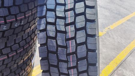 Jinyu Truck Tyre Application Case in Madagascar Africa