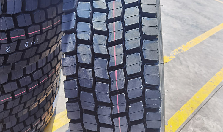 Jinyu Truck Tyre Application Case in Madagascar Africa