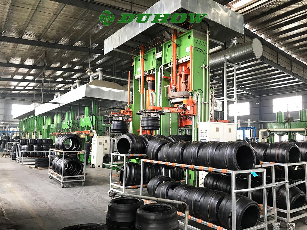 DUHOW Tire FACTORY Workshop