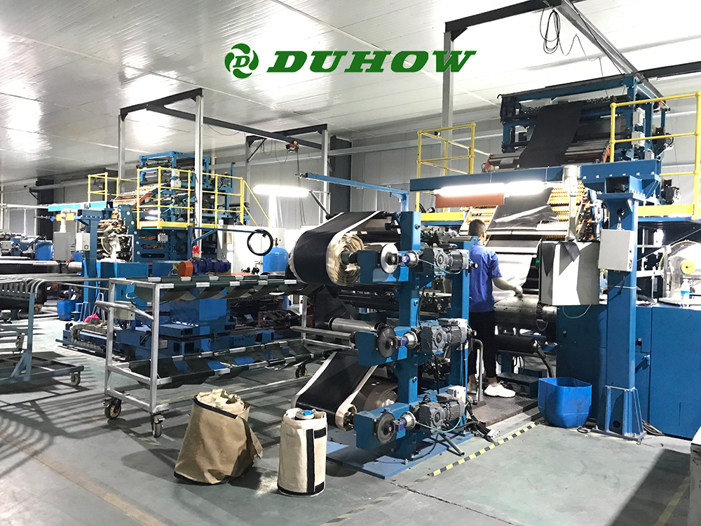 Duhow Tire Factory Tyre Forming Workshop